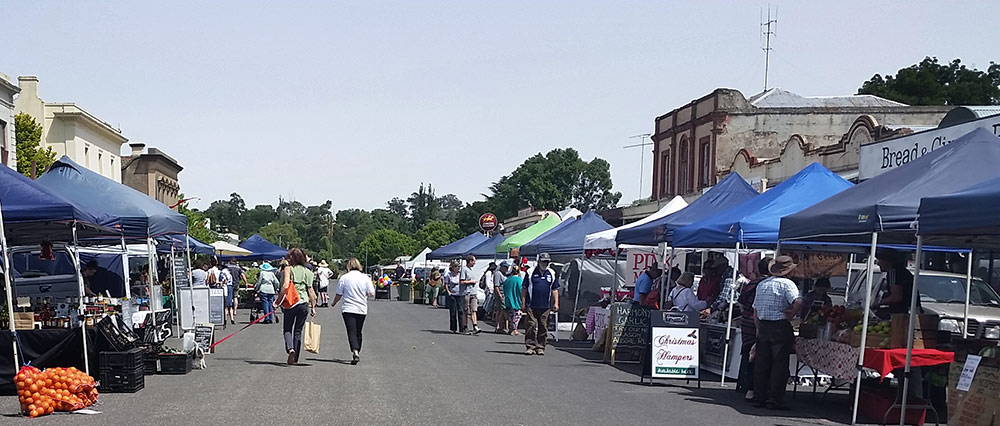 Clunes Farmers' Market